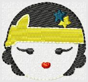 Harajuku Embroidery File Maya