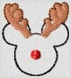 Mickey The Red Nosed Reindeer