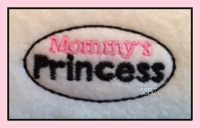 LBS Mommy & Daddy's Princess Embroidery File