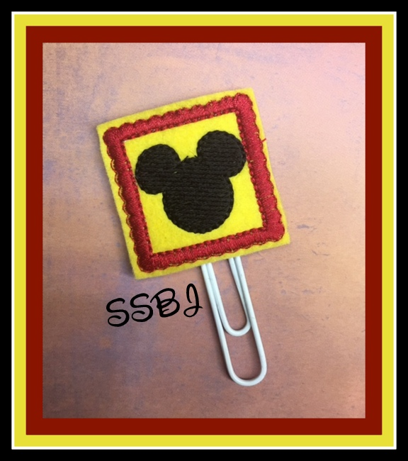 SSBJ Magical Planner Mr Mouse Embroidery File