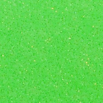 Neon Green Glitter Mirror Vinyl