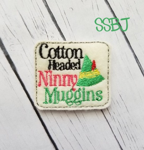 SSBJ Elf Cotton Headed Ninny Muggins Embroidery File