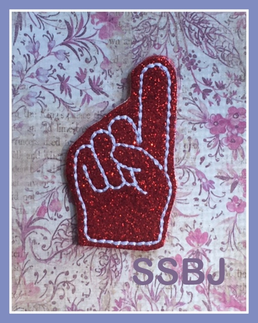 SSBJ Number 1 Finger Embroidery File