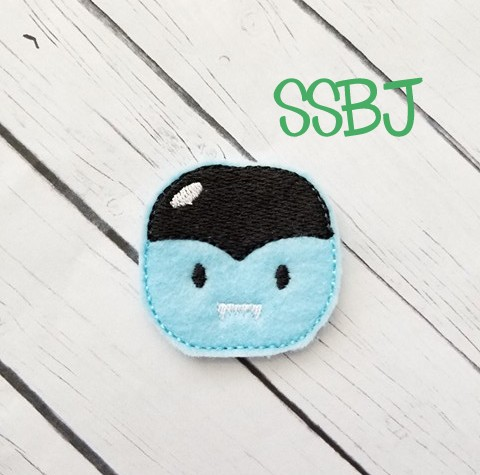 SSBJ Costume Party Dracula Embroidery File