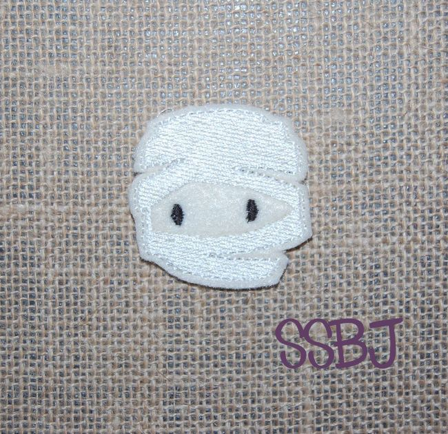 SSBJ Costume Party Mummy Embroidery File
