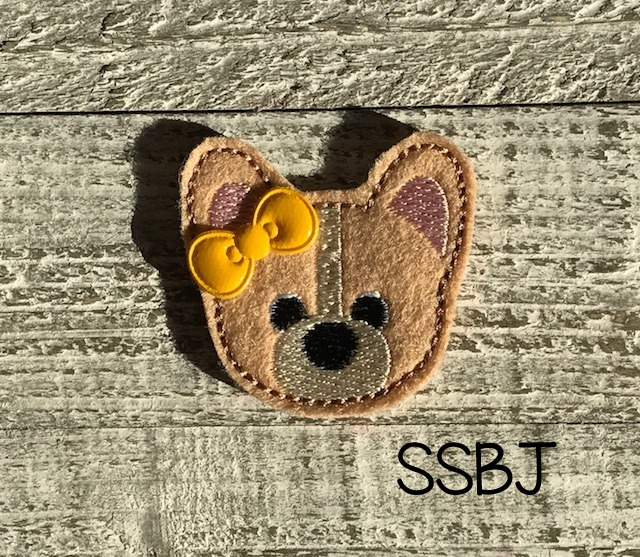 SSBJ Pet Pals Corgi Embroidery File