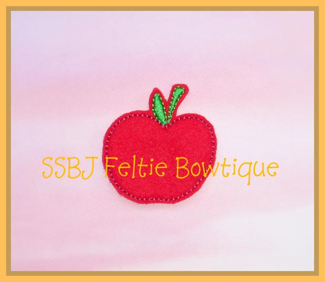 Cutie Apple Embroidery File