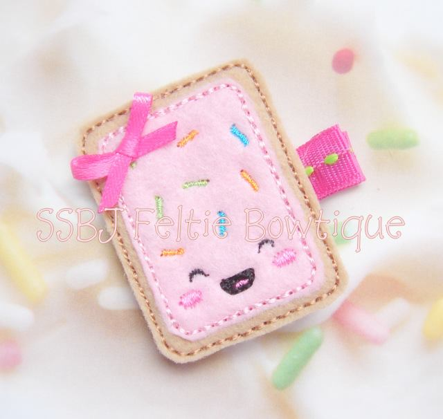 Pop Tart Embroidery File SET
