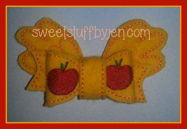 Pretty Pony Bows Embroidery Files