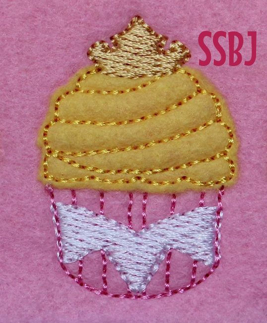 Beauty Cake Embroidery File
