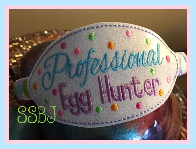 SSBJ Professional Egg Hunter Embroidery File