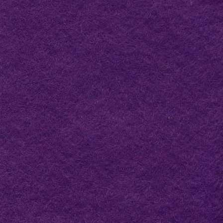 Purple Wool Blend Felt
