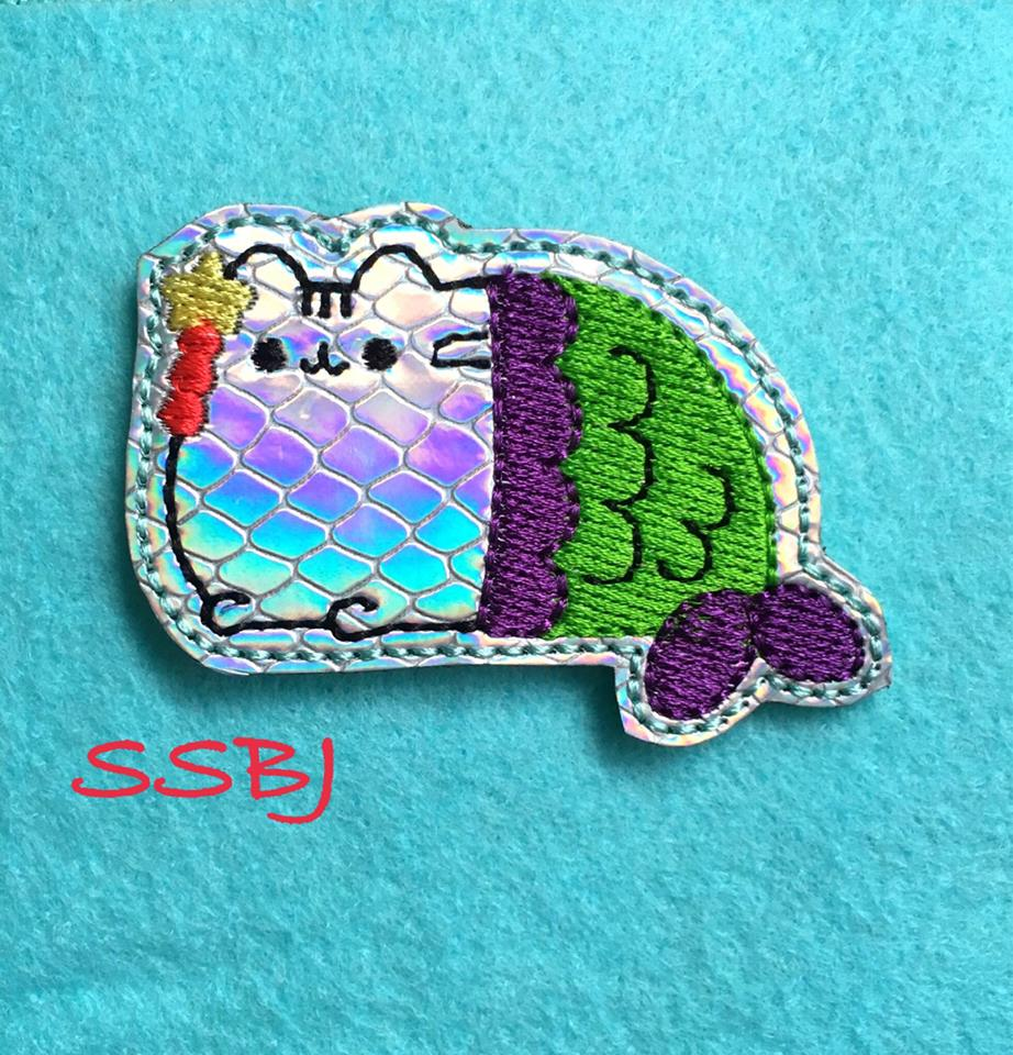 SSBJ Pusheen Embroidery File