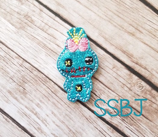 SSBJ Scrump Embroidery File