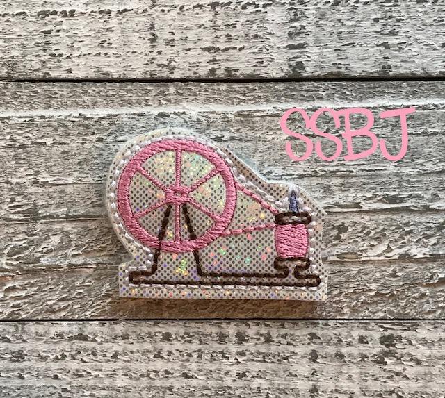 SSBJ Sleeping Beauty Princess Spindle Embroidery File