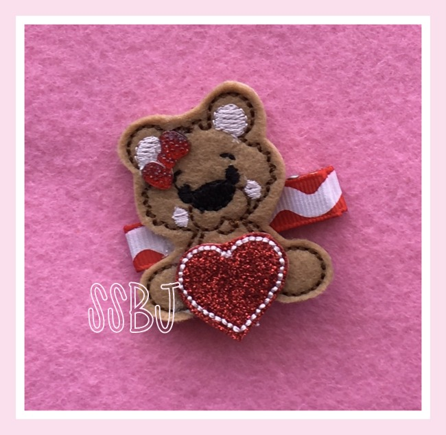 SSBJ Framed Bear Embroidery File