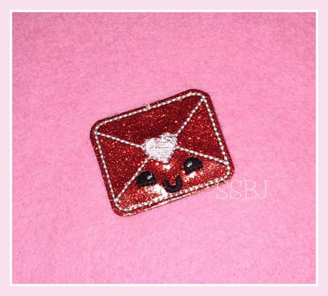 SSBJ Kutie Envelope Embroidery File