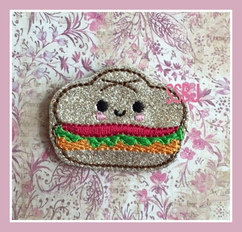 SSBJ Sub Sandwich Embroidery File