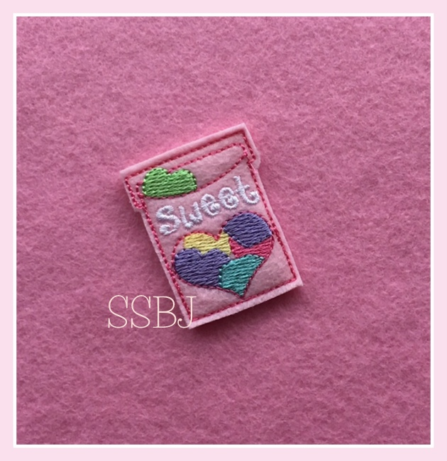 SSBJ Sweet Hearts Embroidery File