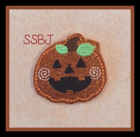 SSBJ Smiley Hallowed Spirits-PUMPKIN Embroidery File