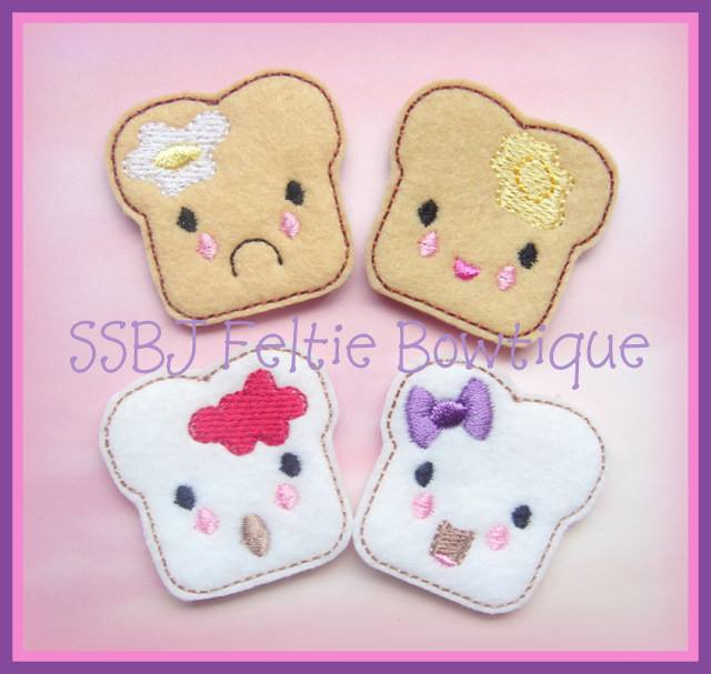 Toast Embroidery File