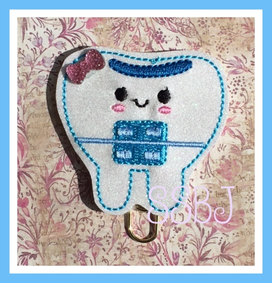 SSBJ Tooth Brace Embroidery File