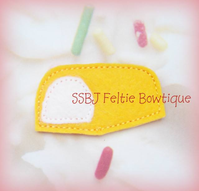 Sponge Cake Embroidery File