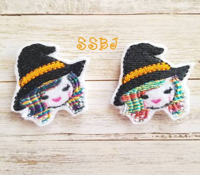 SSBJ Uni Witch Embroidery File