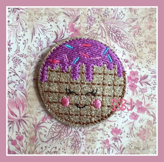 SSBJ Drippy Waffles Embroidery File