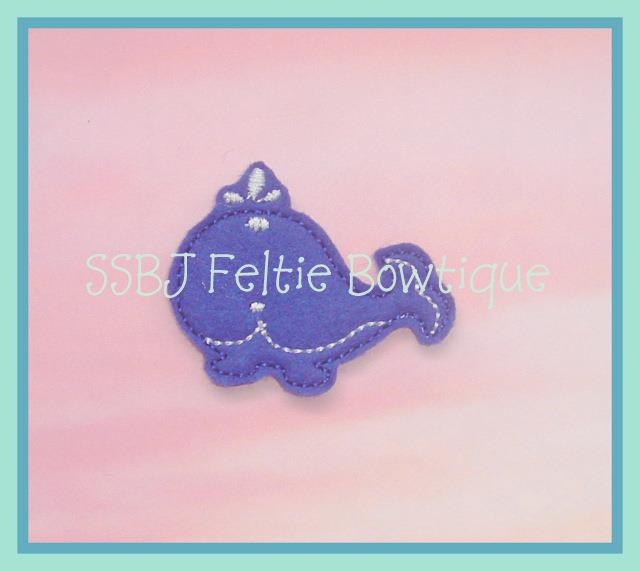 Wallace the Whale Embroidery File