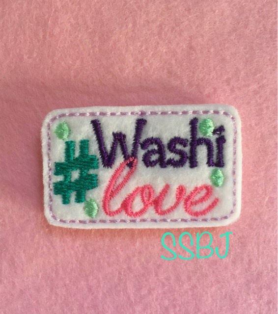 SSBJ Hashtag Washi Love Embroidery File