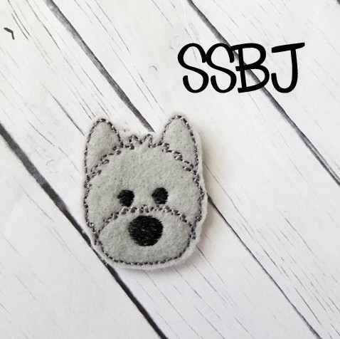 SSBJ Pet Pals Westie Embroidery File