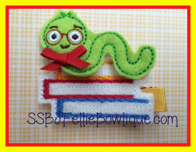 Inchworm Embroidery File